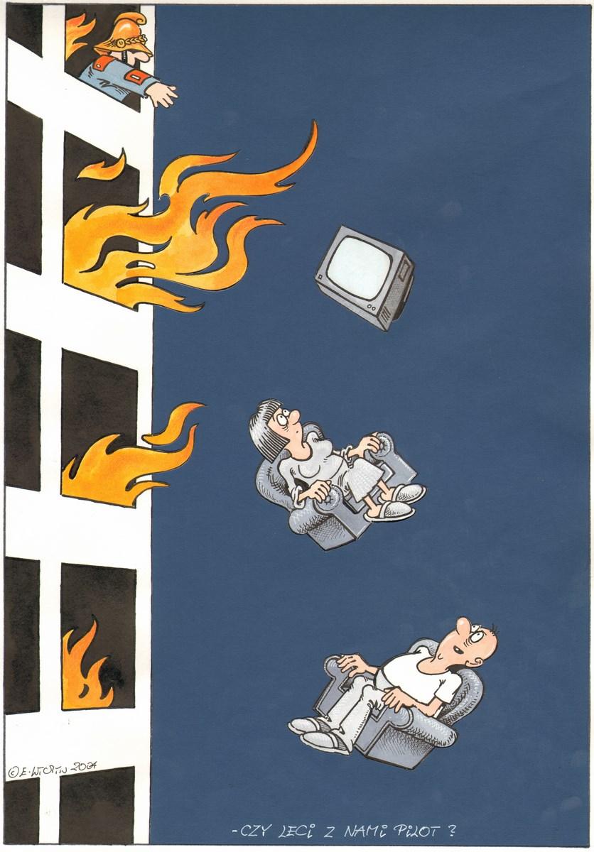 """Edward Lutczyn, """"Czy leci z nami pilot"""" (źródło: materiały prasowe organizatora)"""