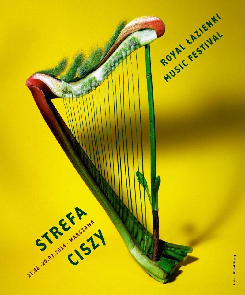 Festiwal Strefa Ciszy, plakat (źródło: materiały prasowe organizatora)