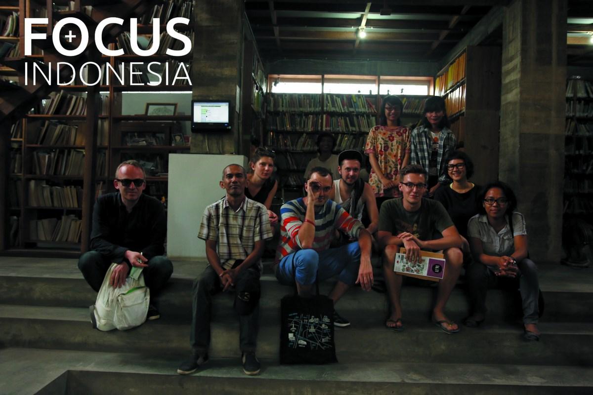 Focus+Indonesia, Rezydencja polskich artystów w Indonezji, 02.2014, fot. Fundacja Upside Art (źródło: materiały prasowe organizatora)