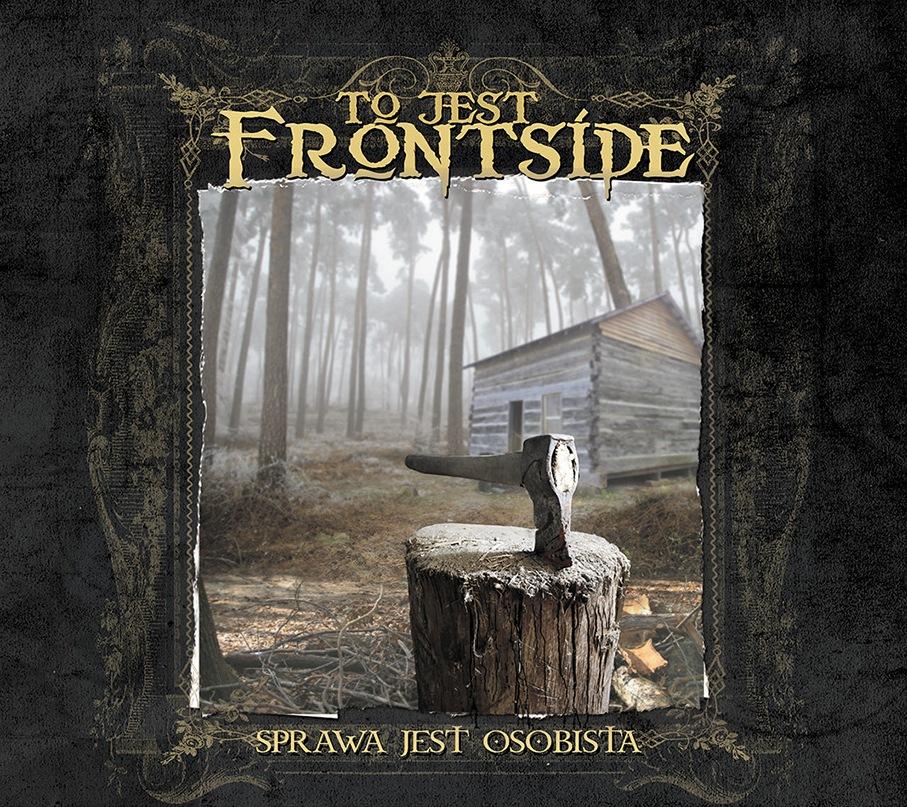 """Okładka najnowszej płyty zespołu Frontside, """"Sprawa jest osobista"""" (źródło: materiały prasowe wydawcy)"""
