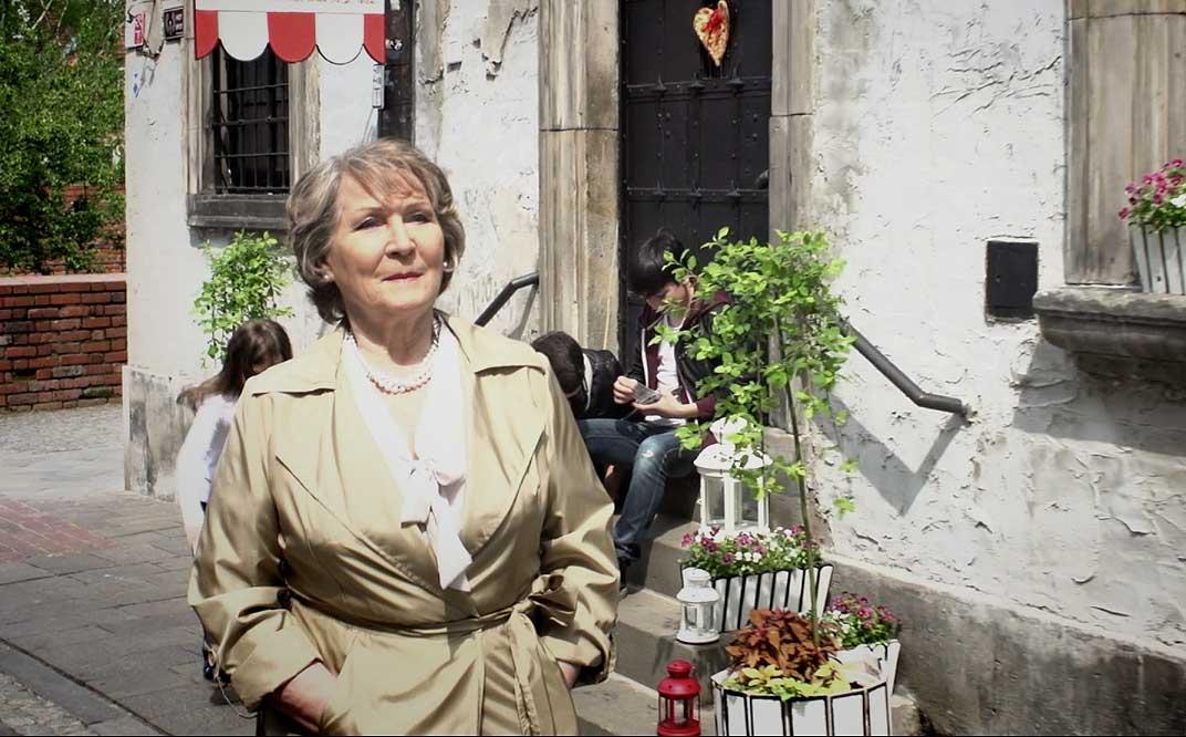 Irena Santor, kadr z klipu (źródło: materiały prasowe dystrybutora)