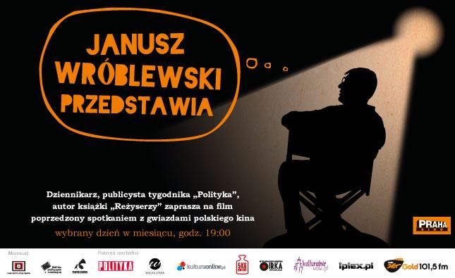 Janusz Wróblewski przedstawia: spotkanie z Andrzejem Wajdą, Kino Praha, Warszawa (źródło: materiały prasowe organizatora)