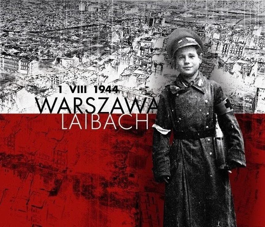 """Okładka nowego minialbumu zespołu Laibach – """"1 VIII 1944. Warszawa"""" (żródło: materiały prasowe wydawcy)"""
