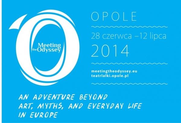 Meeting The Odyssey, plakat, Galeria Sztuki Współczesnej w Opolu (źródło: materiały prasowe organizatora)