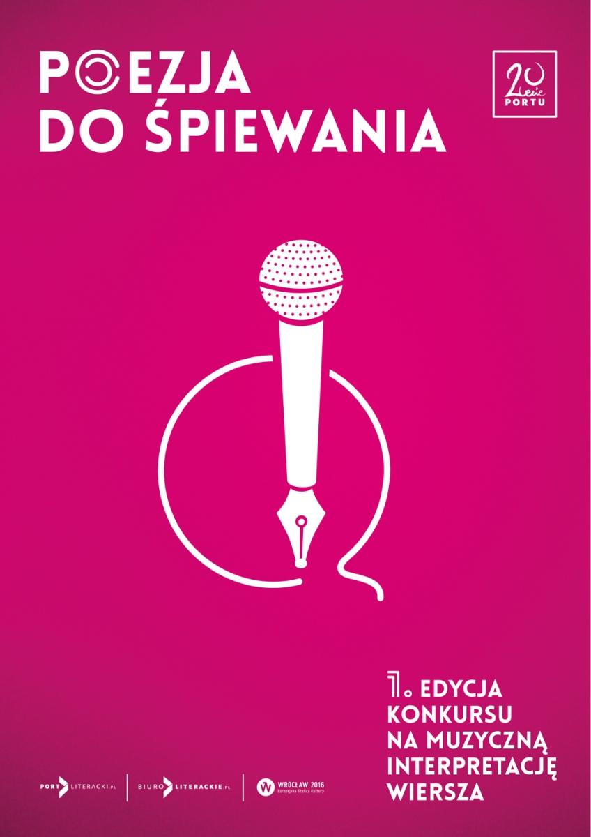 """""""Poezja do śpiewania"""" – plakat (źródło: materiały prasowe)"""