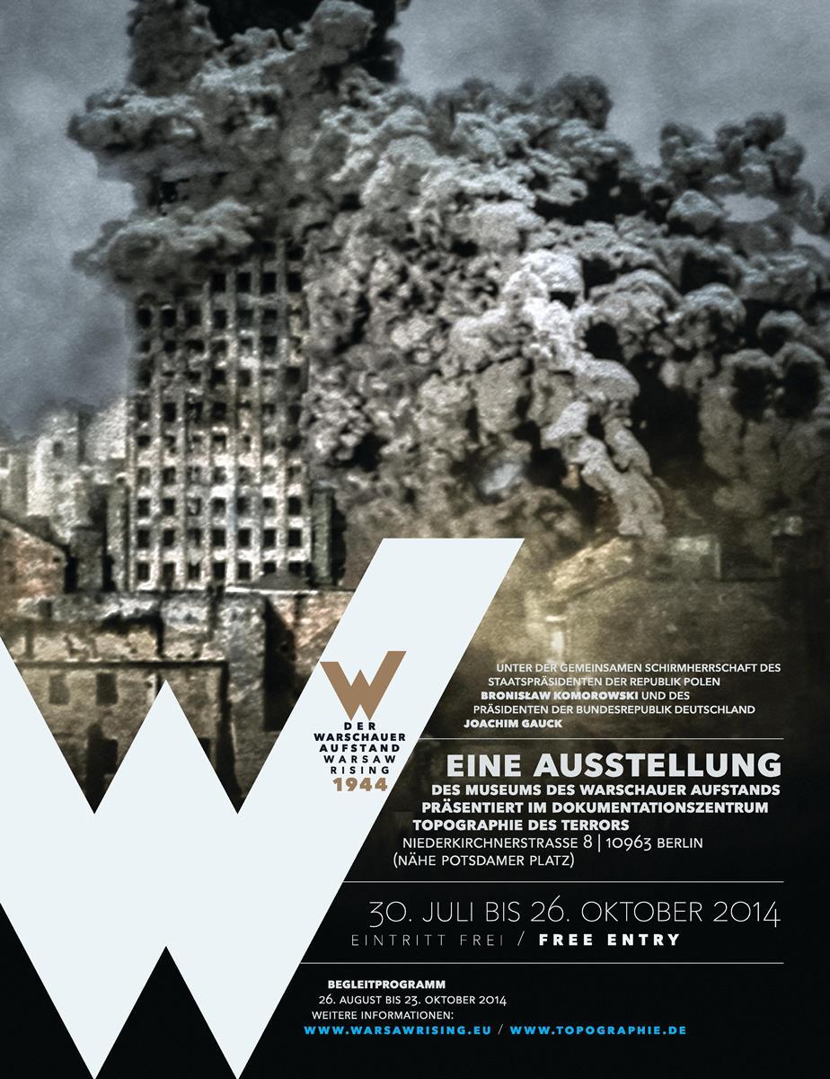 """""""Powstanie warszawskie 1944"""" – plakat (źródło: materiały prasowe)"""
