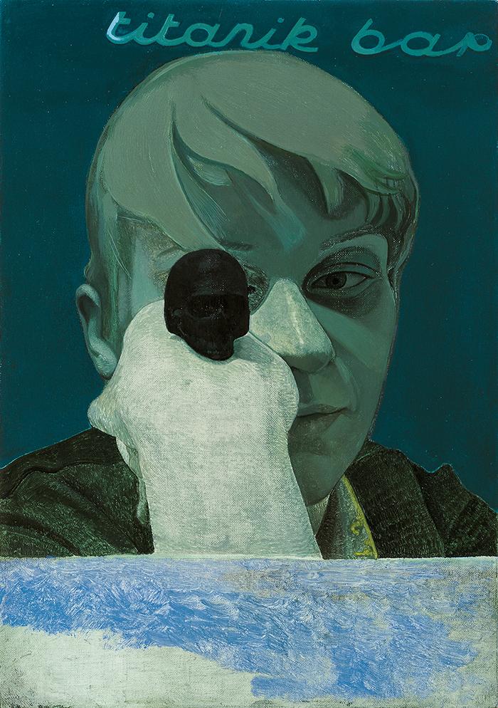 Victor Man, Bez tytułu, 2012, © dzięki uprzejmości artysty, fot. Mathias Schormann (źródło: materiały prasowe organizatora)