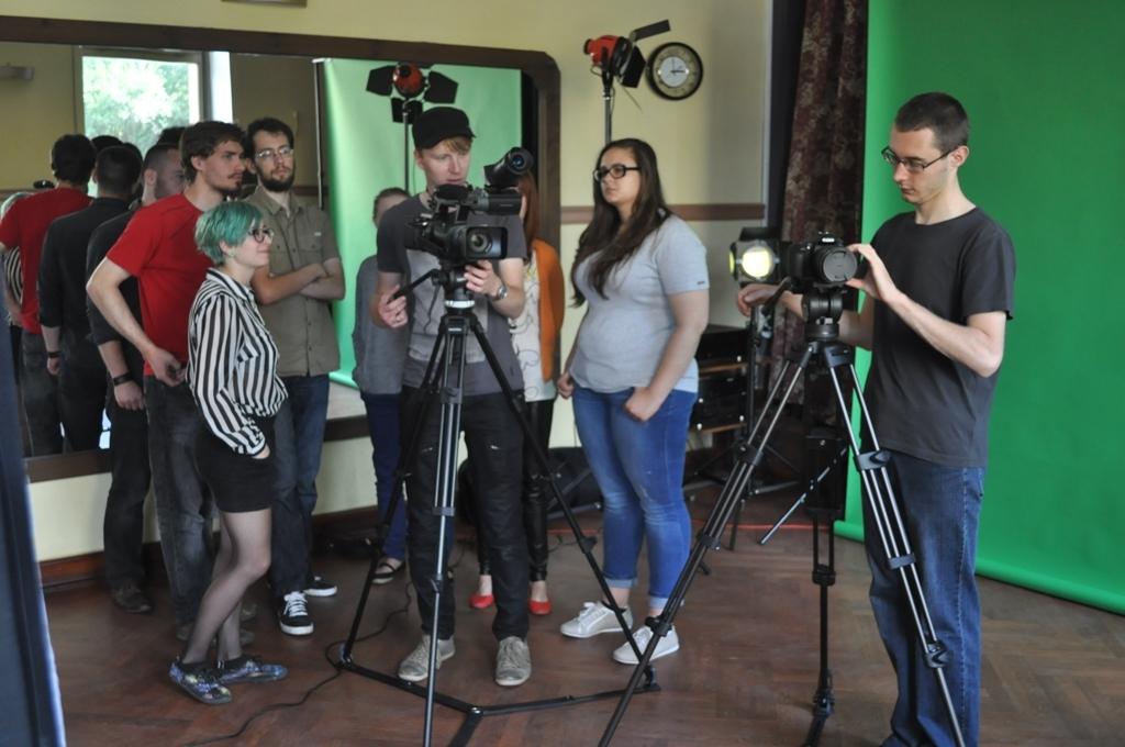 Warsztaty realizacji teledysku prowadzone przez Sabina Kluszczyńskiego (źródło: materiały prasowe organizatora)