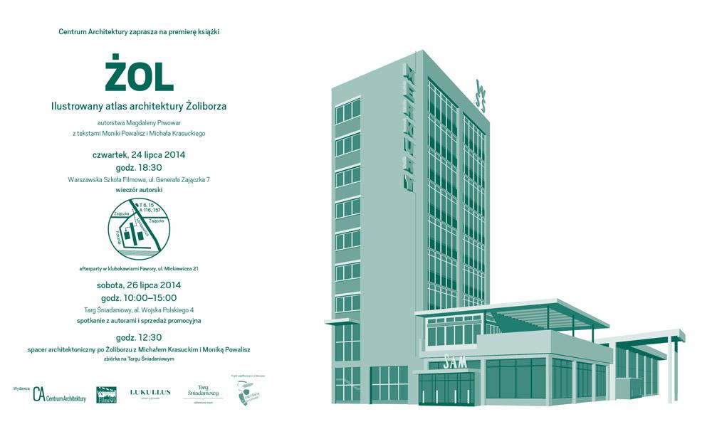 ŻOL. Ilustrowany atlas architektury Żoliborza (źródło: materiały prasowe wydawcy)