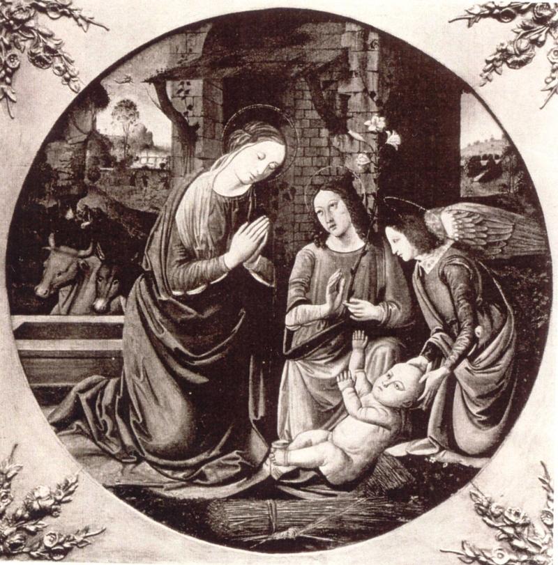 """Lorenzo di Credi """"Adoracja Dzieciątka"""" (źródło: materiały prasowe)"""