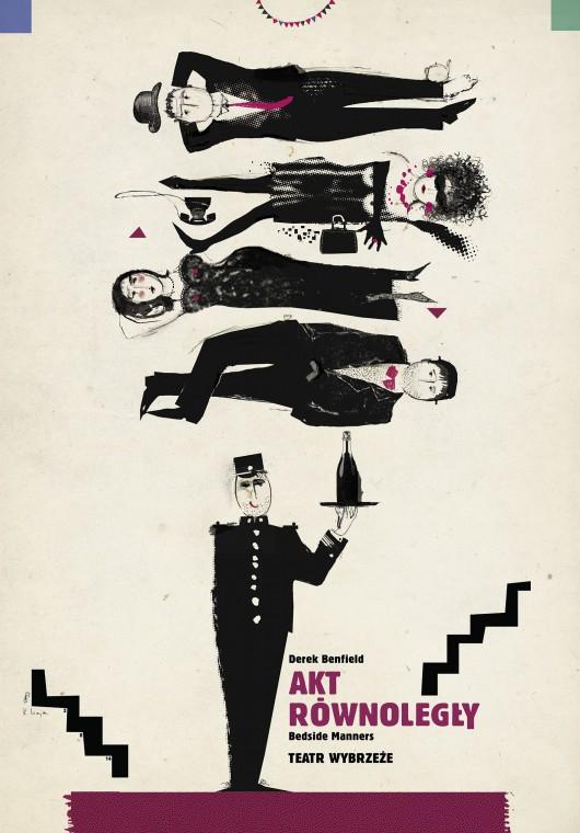 """""""Akt równoległy"""", plakat (źródło: materiały prasowe)"""