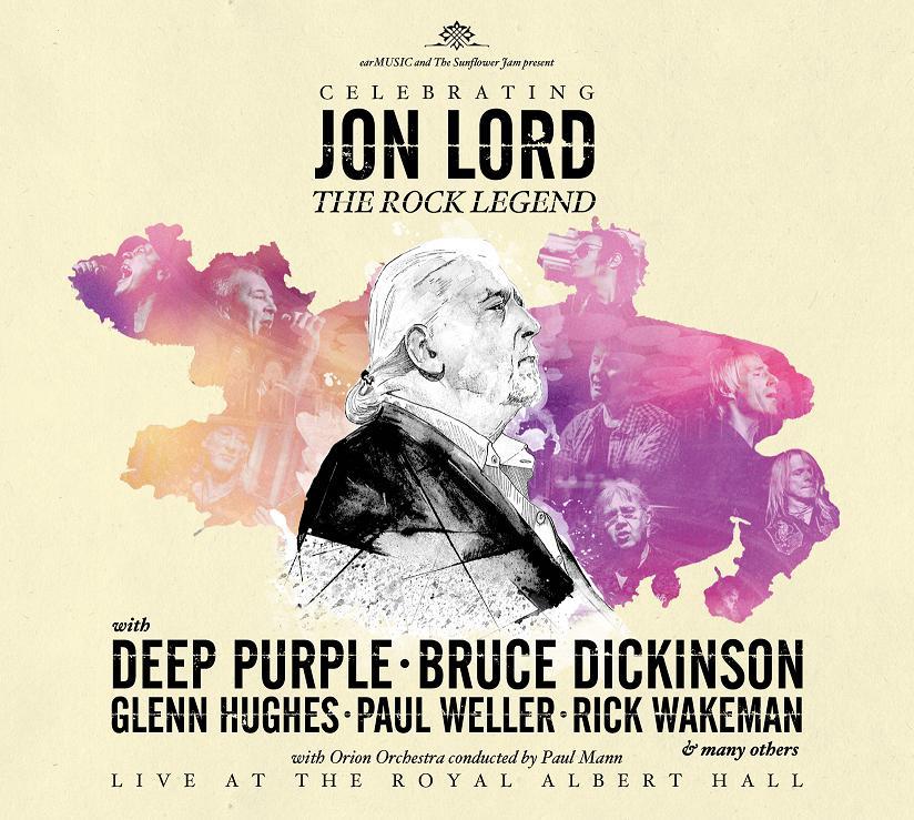 """Cover albumu poświęconego Jonowi Lordowi """"Celebrating Jon Lord"""", (źródło: materiały prasowe wydawcy)"""