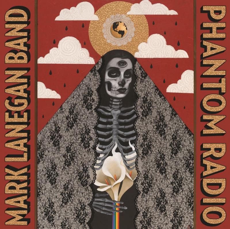 """Cover albumu """"Phantom Radio"""" Mark Lanegan Band, (źródło: materiały prasowe organizatora)"""