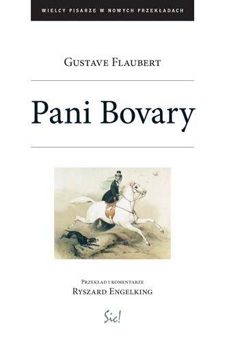 """Gustave Flaubert """"Pani Bovary"""", okładka (źródło: materiały prasowe wydawcy)"""