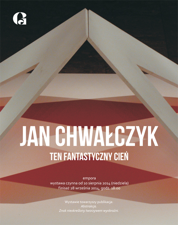 """Jan Chwałczyk """"Ten fantastyczny cień"""" – plakat (źródło: materiały prasowe)"""