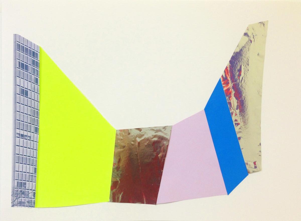 """Julie Rafalski """"Collage III"""" (źródło: materiały prasowe)"""