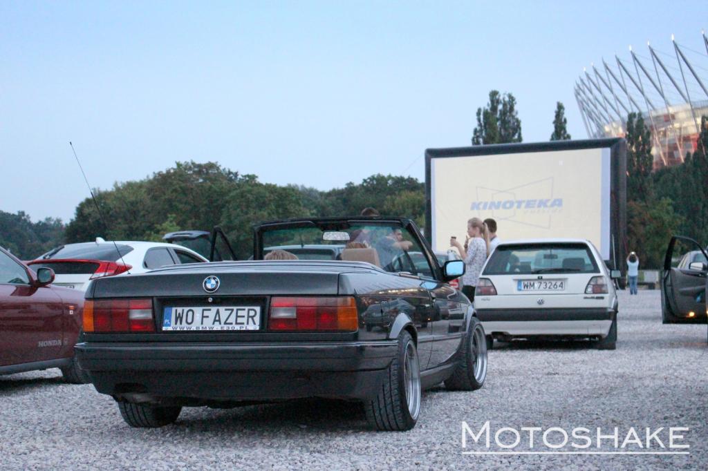 Kino samochodowe pod Stadionem Narodowym, (źródło: materiały prasowe organizatora)