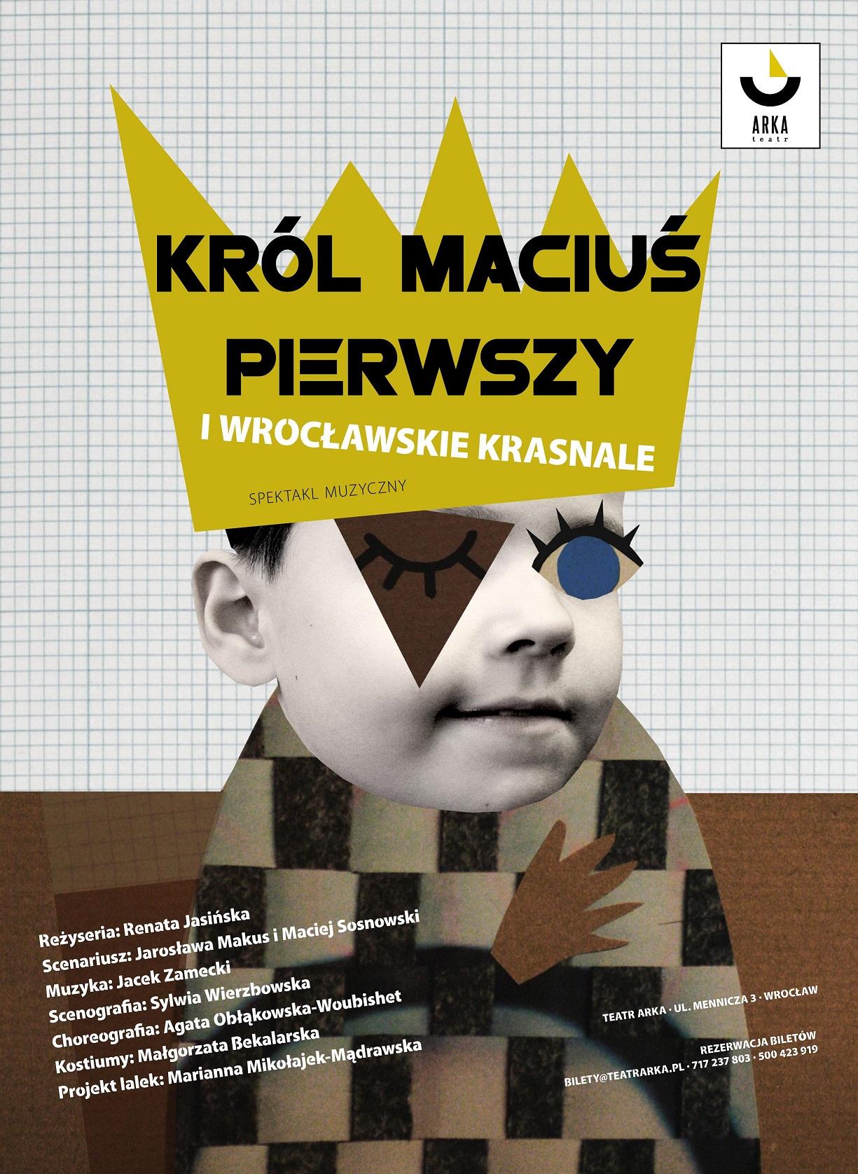 """""""Król Maciuś Pierwszy i wrocławskie krasnale"""" (źródło: materiały prasowe organizatora)"""