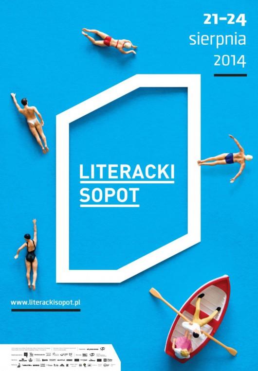 Literacki Sopot – plakat (źródło: materiały prasowe)