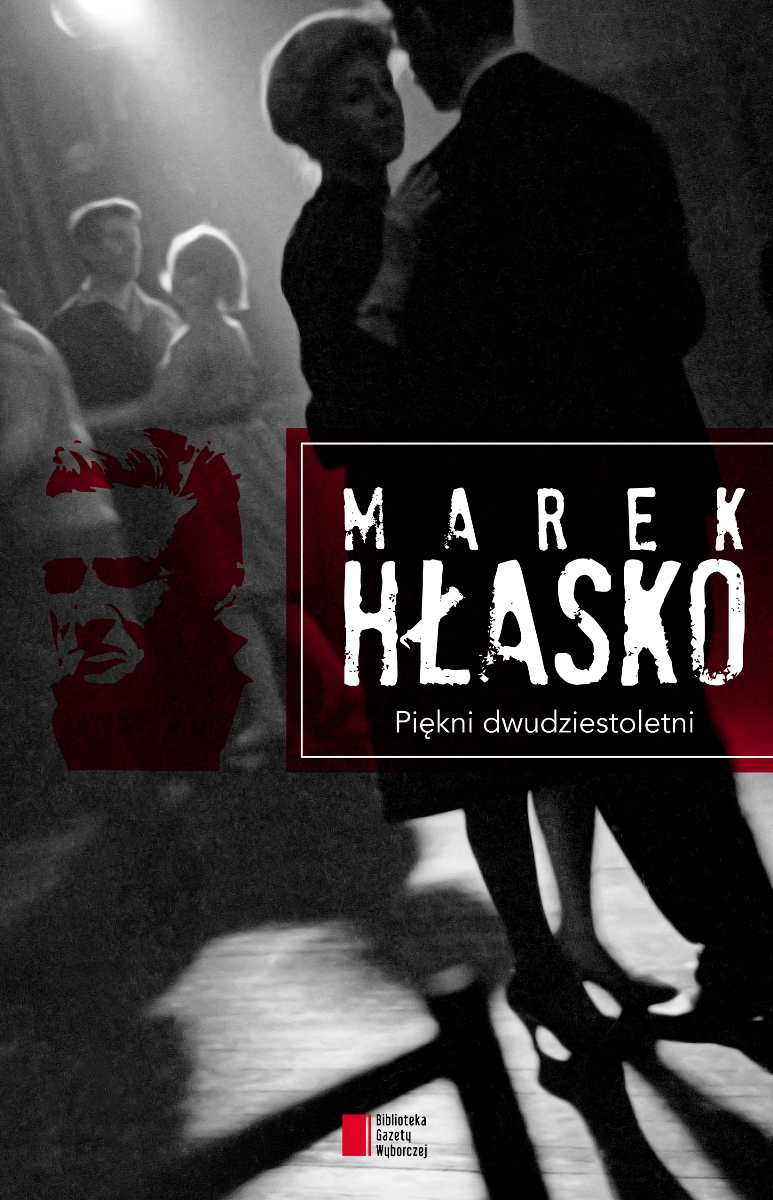 """Marek Hłasko """"Piękni dwudziestoletni"""" – okładka (źródło: materiały prasowe)"""
