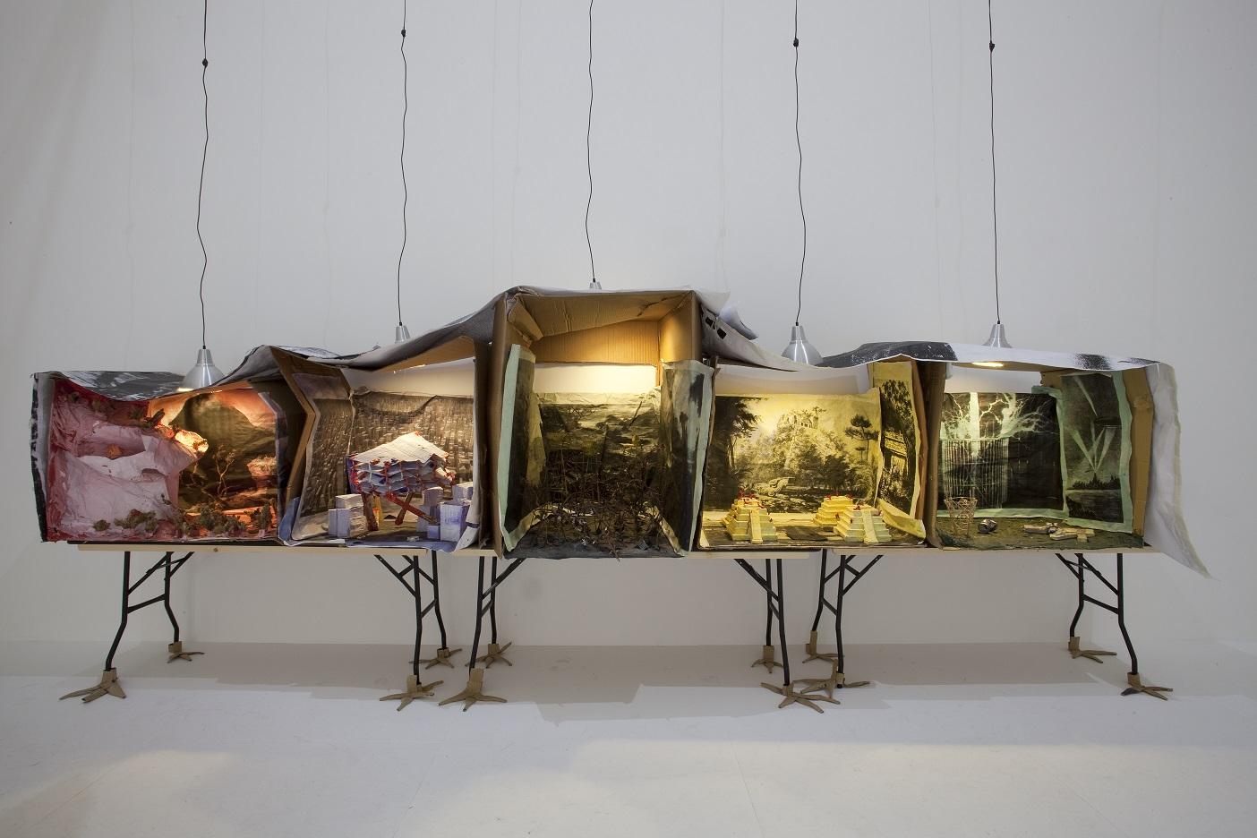 """Marvin Gaye Chetwynd – """"Diorama"""", (źródło: materiały prasowe organizatora)"""