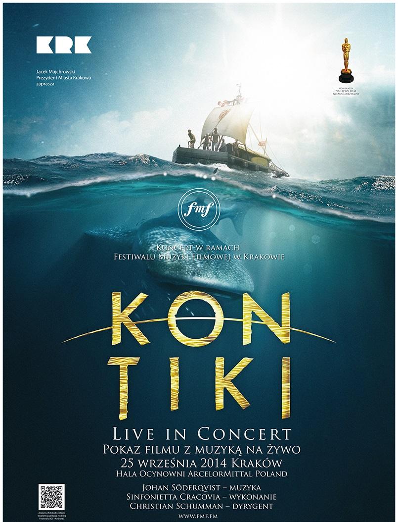 "Plakat filmu ""Kon-Tiki"", (źródło: materiały prasowe organizatora)"