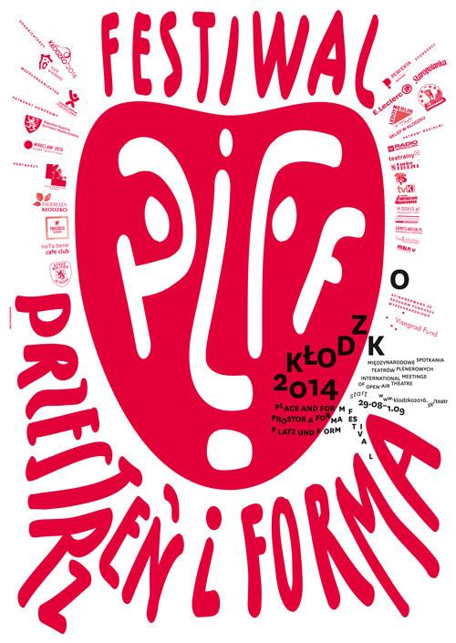 Plakat Przestrzeń i Forma Festiwal, (źródło: materiały prasowe organizatora)