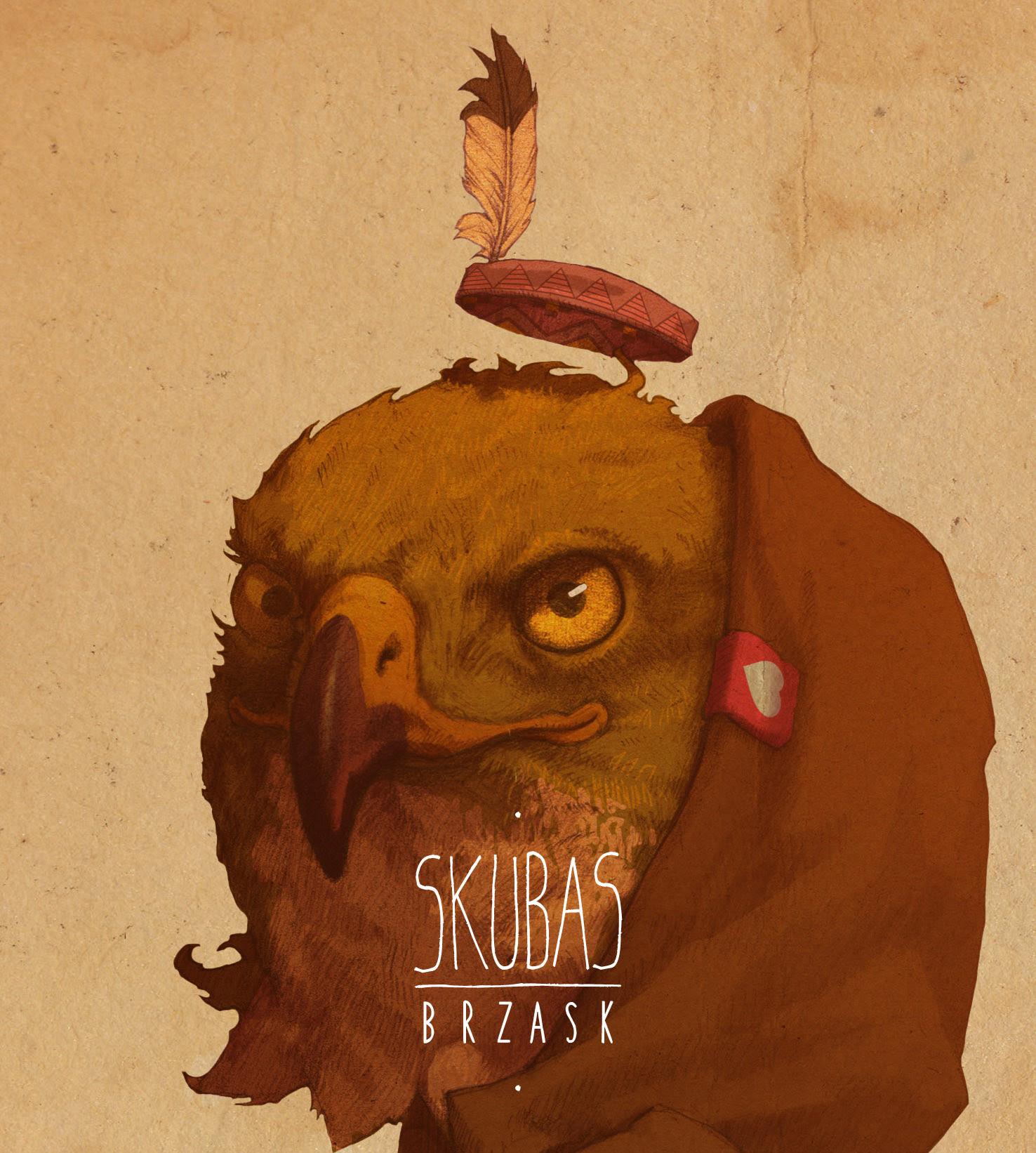 """Cover albumu """"Brzask"""", (źródło: materiał prasowe wydawcy)"""