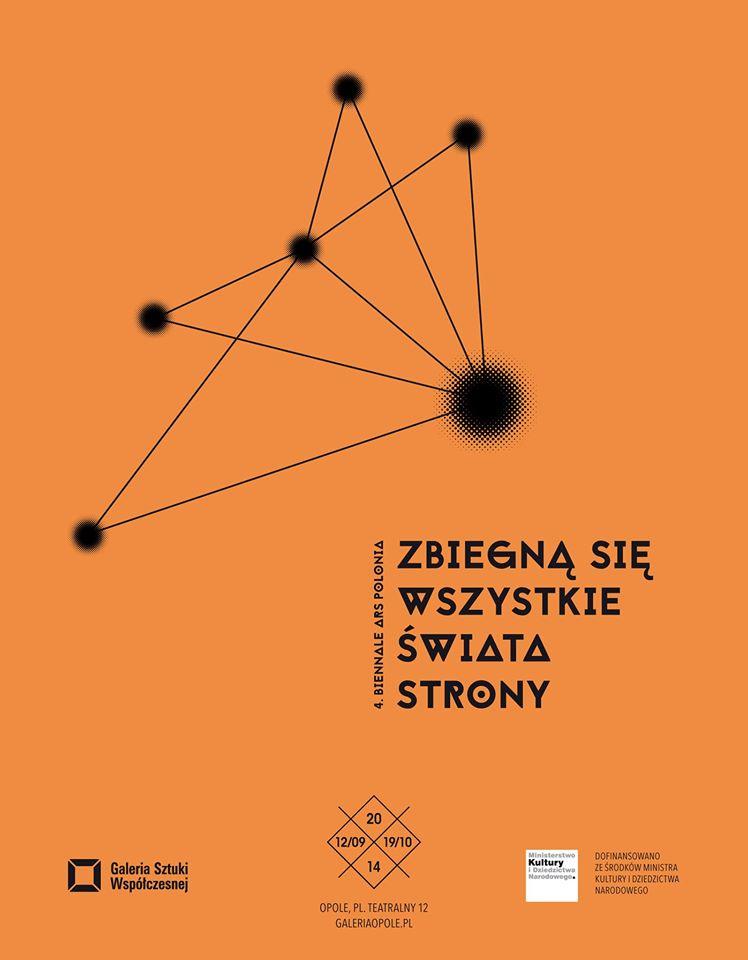 4. Biennale Ars Polonia, Galeria Sztuki Współczesnej w Opolu, plakat (źródło: materiały prasowe organizatora)