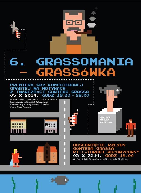 6. Festiwal Grassomania, plakat (źródło: materiały prasowe organizatora)