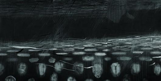 "Agata Gertchen ""Unbridled_01"", 2011, rysunek (źródło: materiały prasowe)"