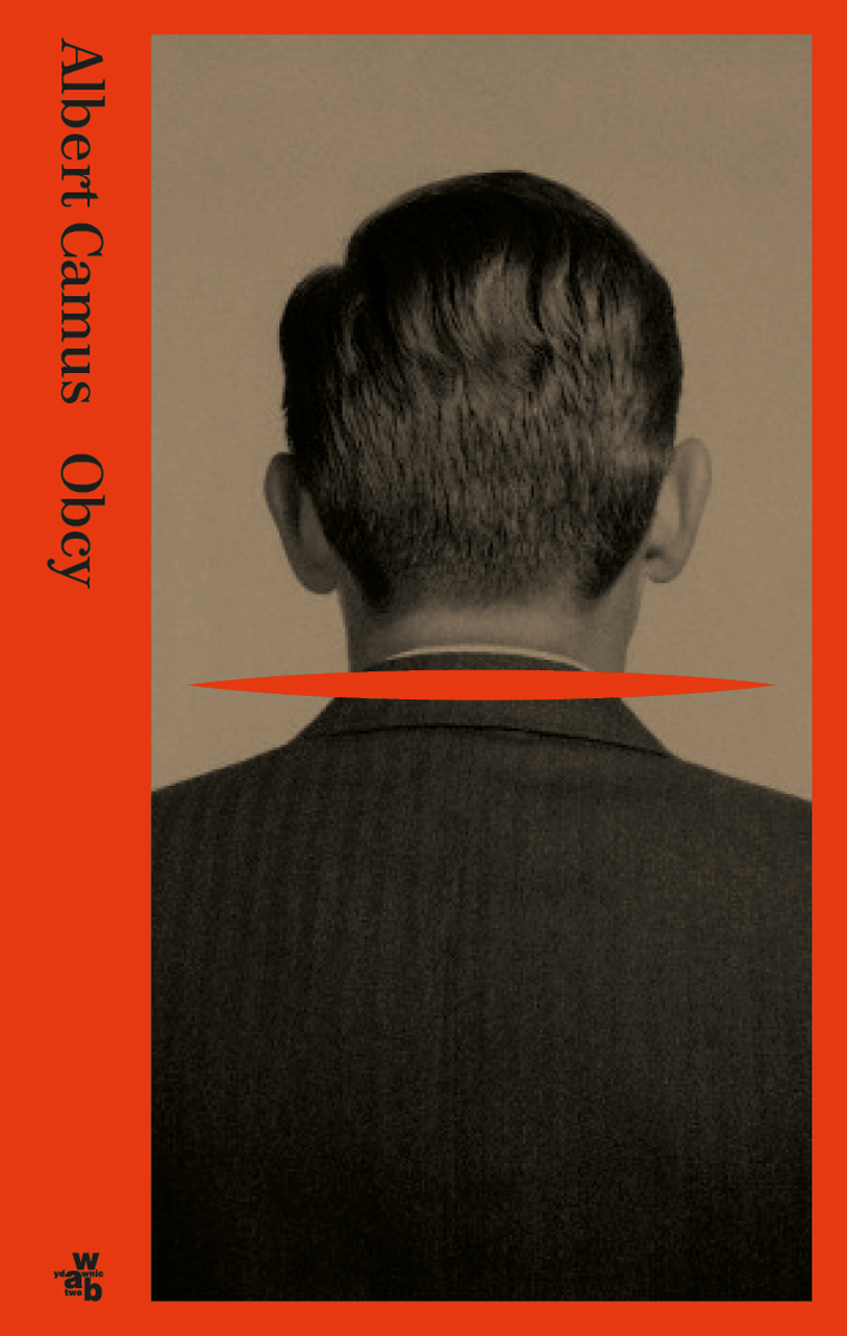 """Albert Camus """"Obcy"""" – okładka (źródło: materiały prasowe)"""