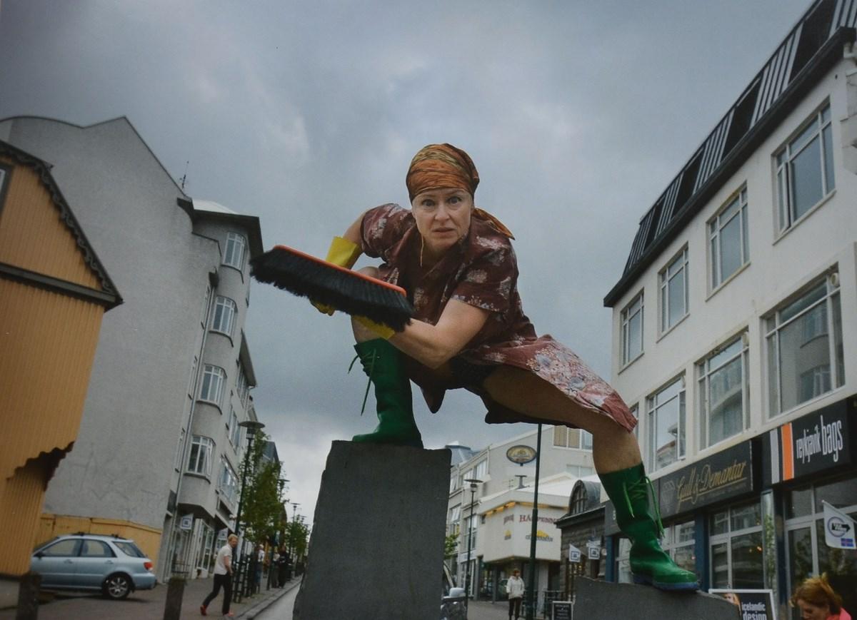 Anna Richardsdottir, performance, Islandia (źródło: materiały prasowe organizatora)