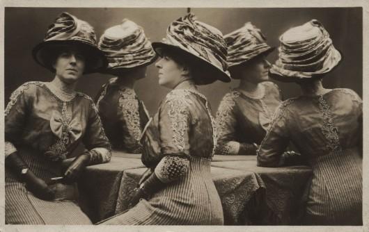 Portret wielokrotny, anonimowa osoba, ok. 1910 r., (źródło: materiały prasowe organizatora)
