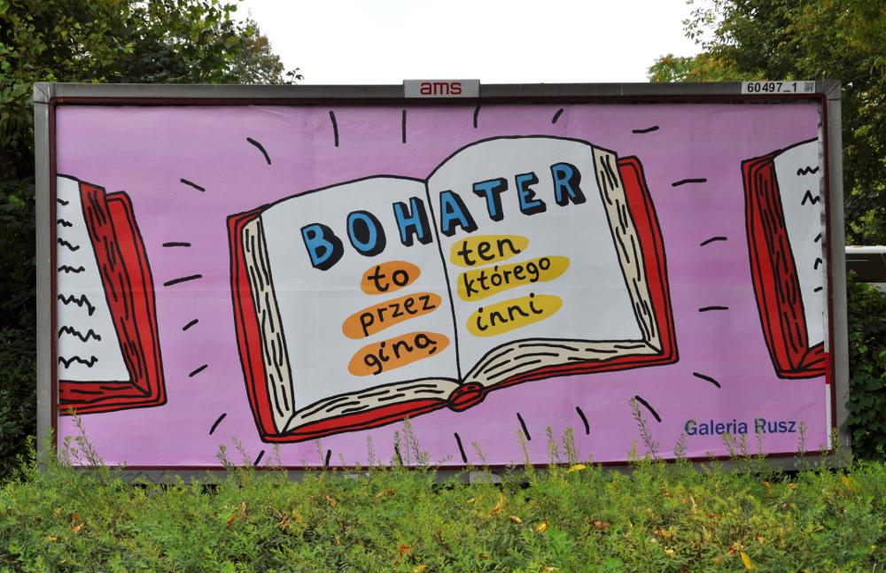 """""""Bohater"""", Galeria Rusz, Warszawa (źródło: materiały prasowe organizatora)"""