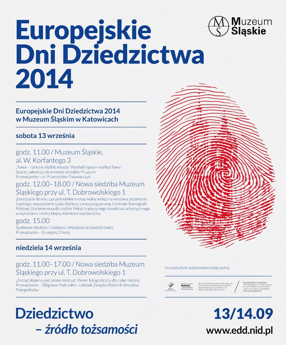 Europejskie Dni Dziedzictwa – plakat (źródło: materiały prasowe)