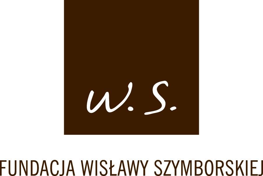 Fundacja Wisławy Szymborskiej – logo (źródło: materiały prasowe)