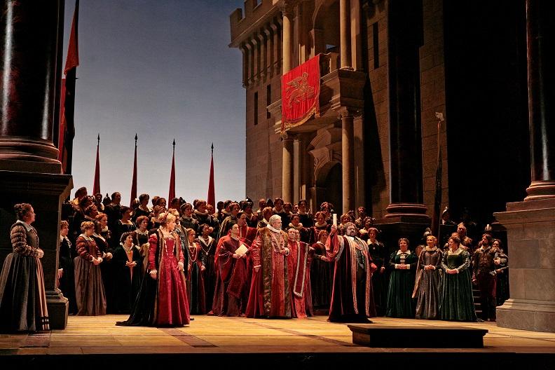 """Kadr z opery """"Otello"""", (źródło: materiały prasowe organizatora)"""