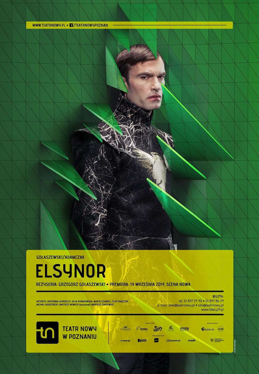 """Plakat przedstawienia """"Elsynor"""", (źródło: materiały prasowe organizatora)"""