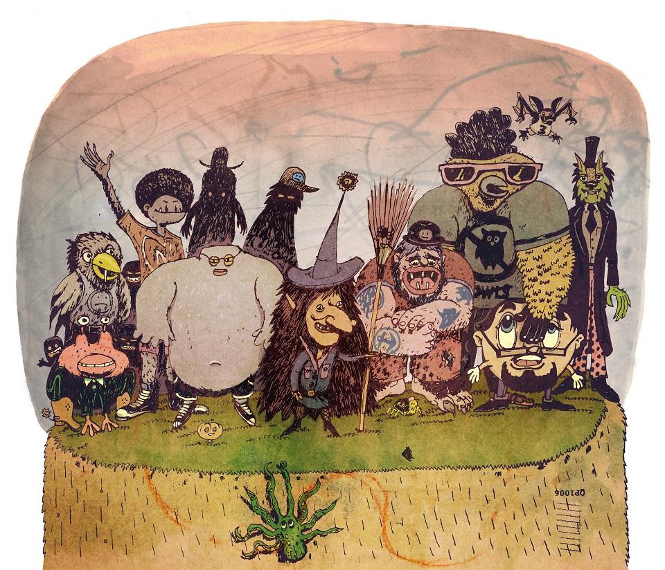Ilustracja Jacek Frąś. Fot. Tomasz Ziółkowski (źródło: materiały prasowe organizatora)