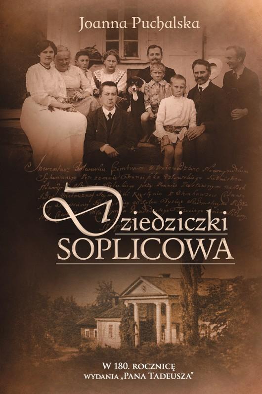 """Joanna Puchalska """"Dziedziczki Soplicowa"""" – okładka (źródło: materiały prasowe)"""