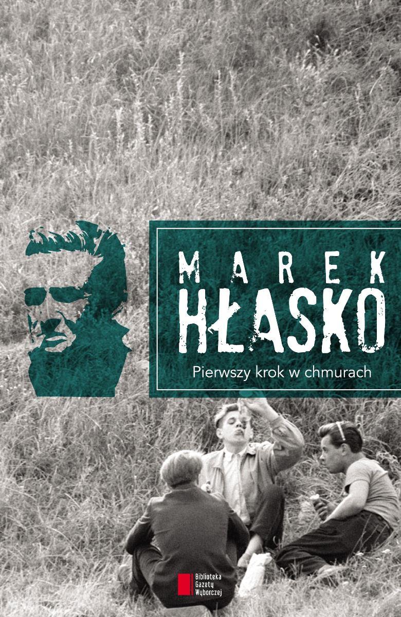 """Marek Hłasko """"Pierwszy krok w chmurach"""" – okładka (źródło: materiały prasowe)"""