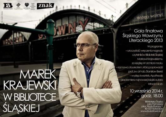 Śląski Wawrzyn Literacki dla Marka Krajewskiego – gala finałowa nagrody (źródło: materiały prasowe)