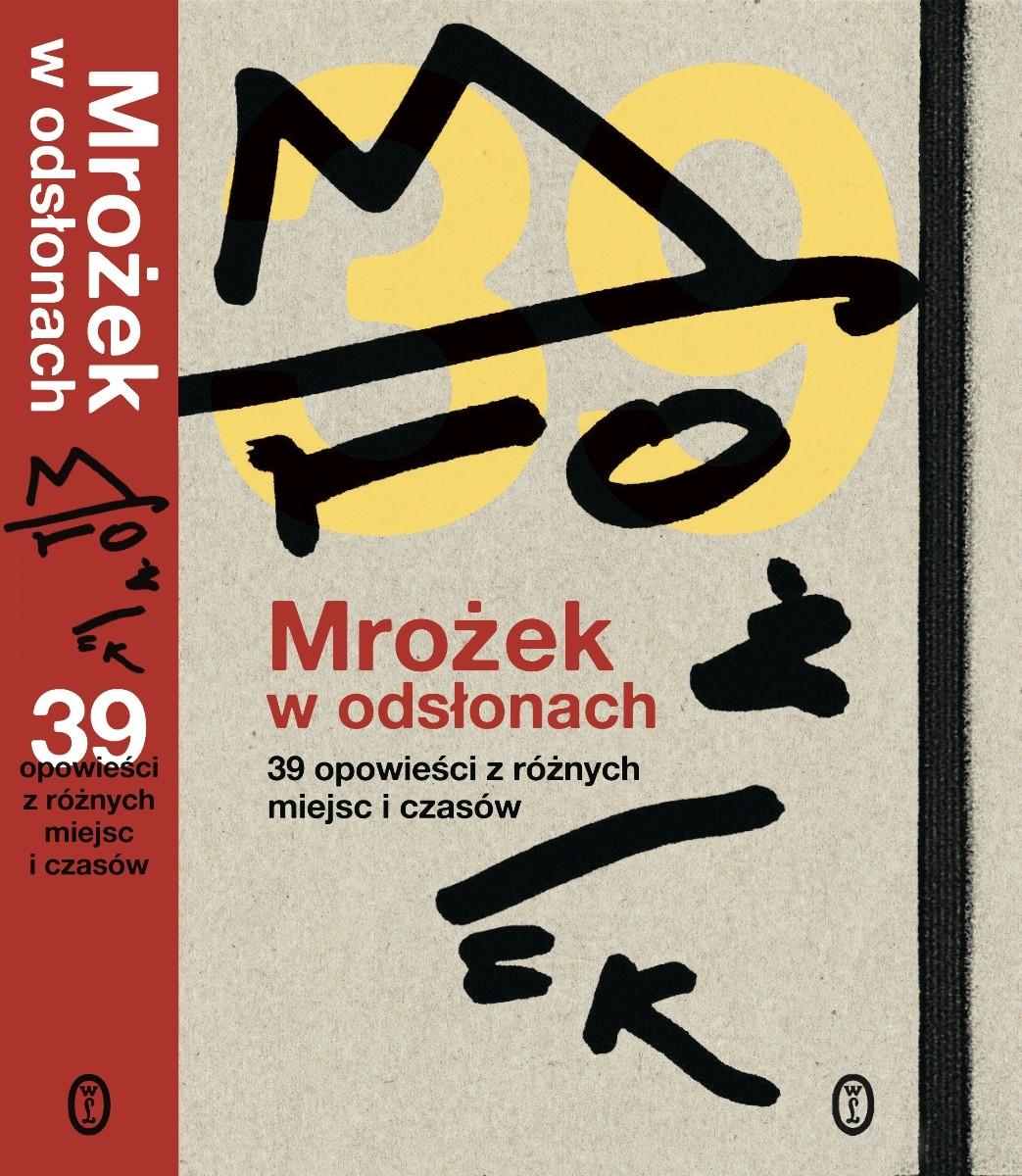"""""""Mrożek w odsłonach. 39 opowieści z różnych miejsc i czasów"""" – okładka (źródło: materiały prasowe)"""