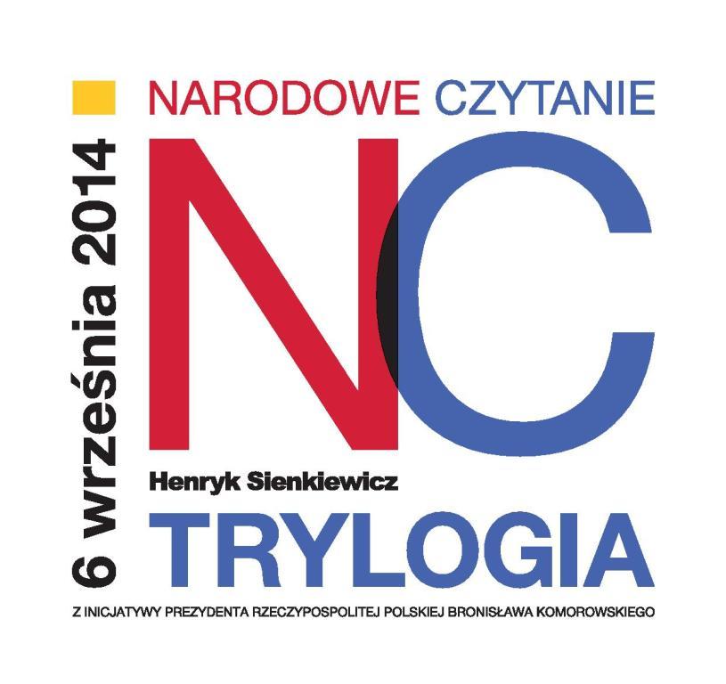 Narodowe Czytanie Sienkiewicza, logotyp (źródło: materiały prasowe)