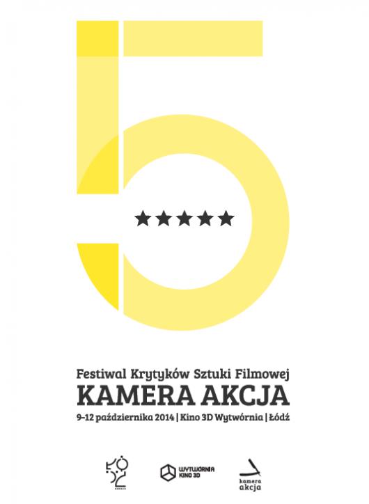 Plakat 5. Festiwalu Kamera Akcja, (źródło: materiały prasowe organizatora)