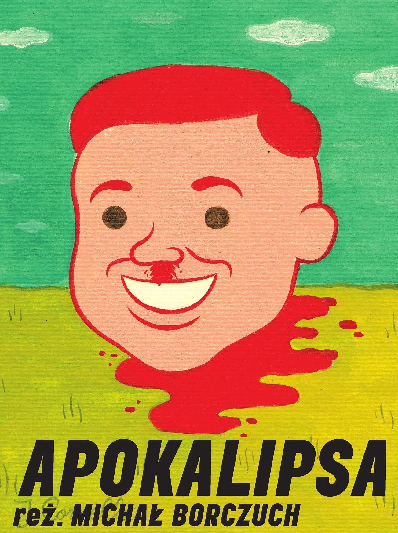 """""""Apokalipsa"""", plakat (źródło: materiały prasowe organizatora)"""