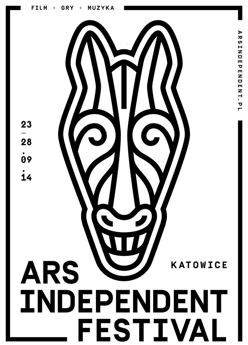 Plakat Ars Independent Festival 2014, (źródło: materiały prasowe organizatora)