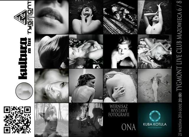 """Plakat wystawy """"ONA"""", (źródło: materiały prasowe organizatora)"""