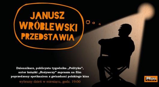 """Plakat cyklu """" Janusz Wróblewski przedstawia"""", (źródło: materiały prasowe organizatora)"""